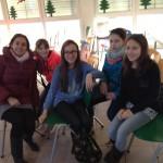 mit ehemaligen Schülern