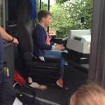 Cool, ich bin der neue Busfahrer