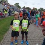 stolze fertige Läufer