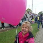Luftballon passend zur Jacke ;-)