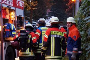 schneller Einsatz unserer Feuerwehr