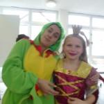 Frosch mit Prinzessin