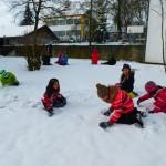 Schneekunst mit Patenkindern 002