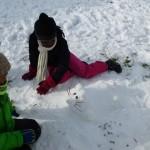 Schneekunst mit Patenkindern 012
