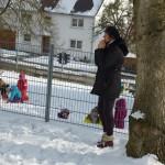 Schneekunst mit Patenkindern 016