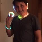 leuchtender Schmuck